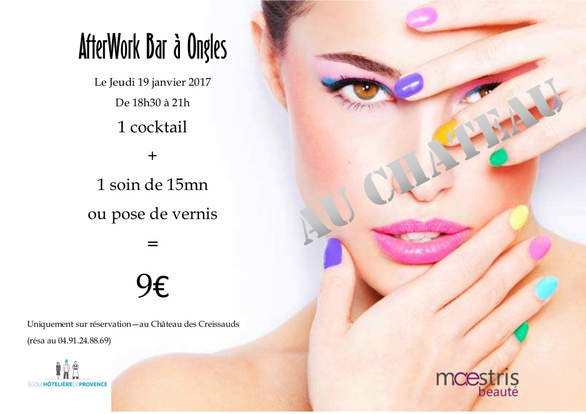 Jeudi 19 janvier 2017 ► After,work Bar à Ongles